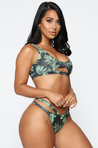Catch A Vibe Bikini - Black/Combo Angle 2