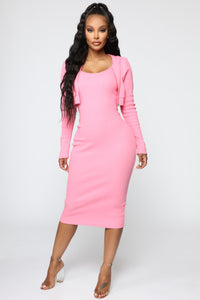 That's So Fetch Dress Set - Pink Angle 1