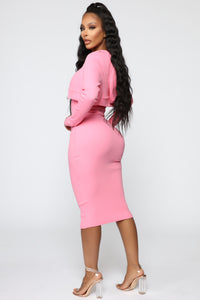 That's So Fetch Dress Set - Pink Angle 3