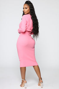 That's So Fetch Dress Set - Pink Angle 4