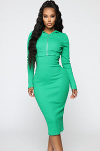 That's So Fetch Dress Set - Kelly Green Angle 2