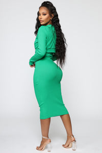 That's So Fetch Dress Set - Kelly Green Angle 3
