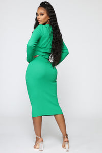 That's So Fetch Dress Set - Kelly Green Angle 4