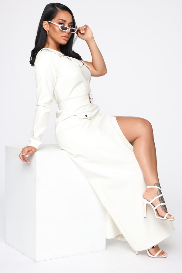 7e1ee290d3f She Bad Maxi Dress - White