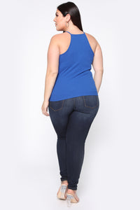 Demi Racer Back Cami - Royal