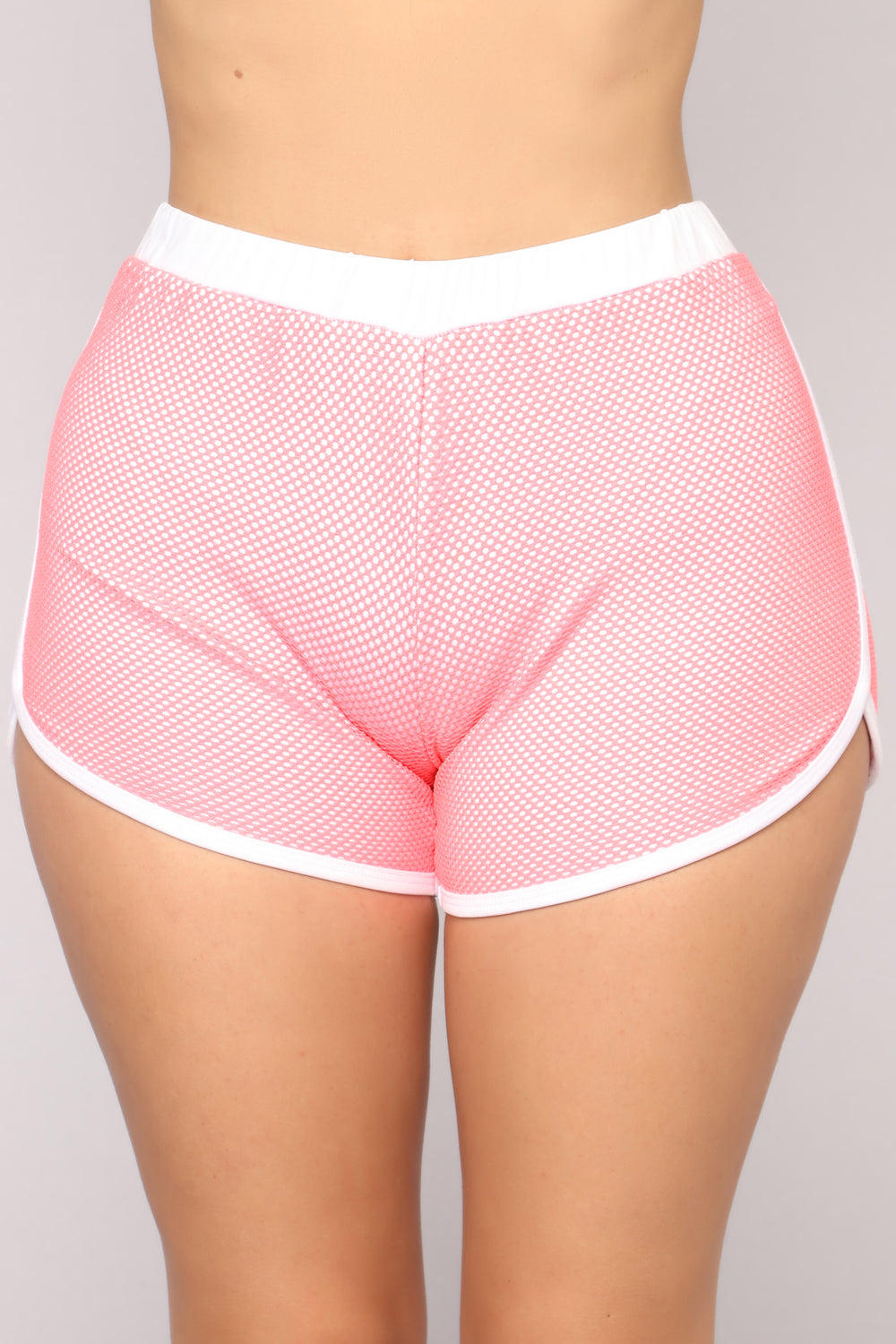 Penelope Shorts - Neon Coral