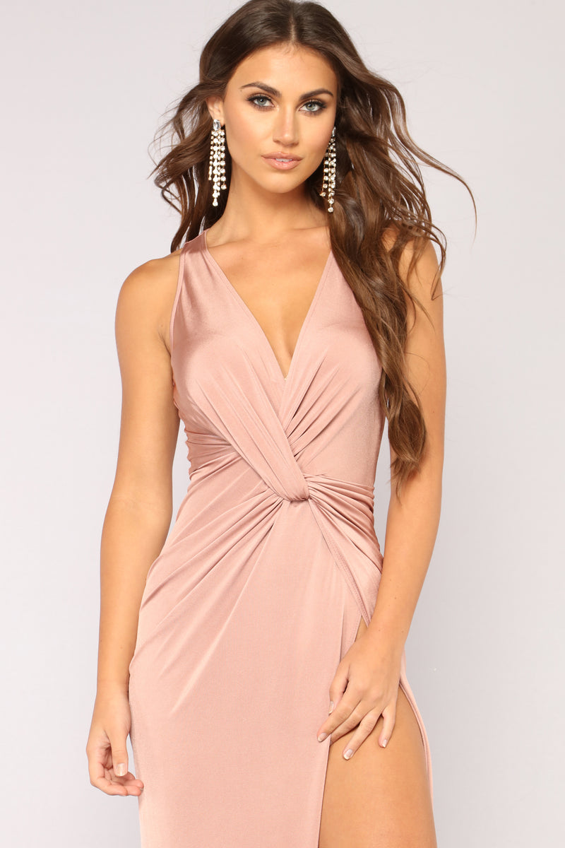 I'm A Lady Maxi Dress - Mauve