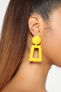 My Only Explanation Earring - Mustard