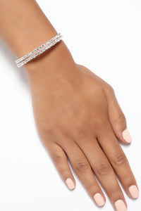Embrace The Change Bracelet - Silver