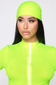 Beach Club VIP 3 Piece Sunsuit Set - Neon Yellow