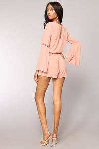 Open Air Romper - Mauve