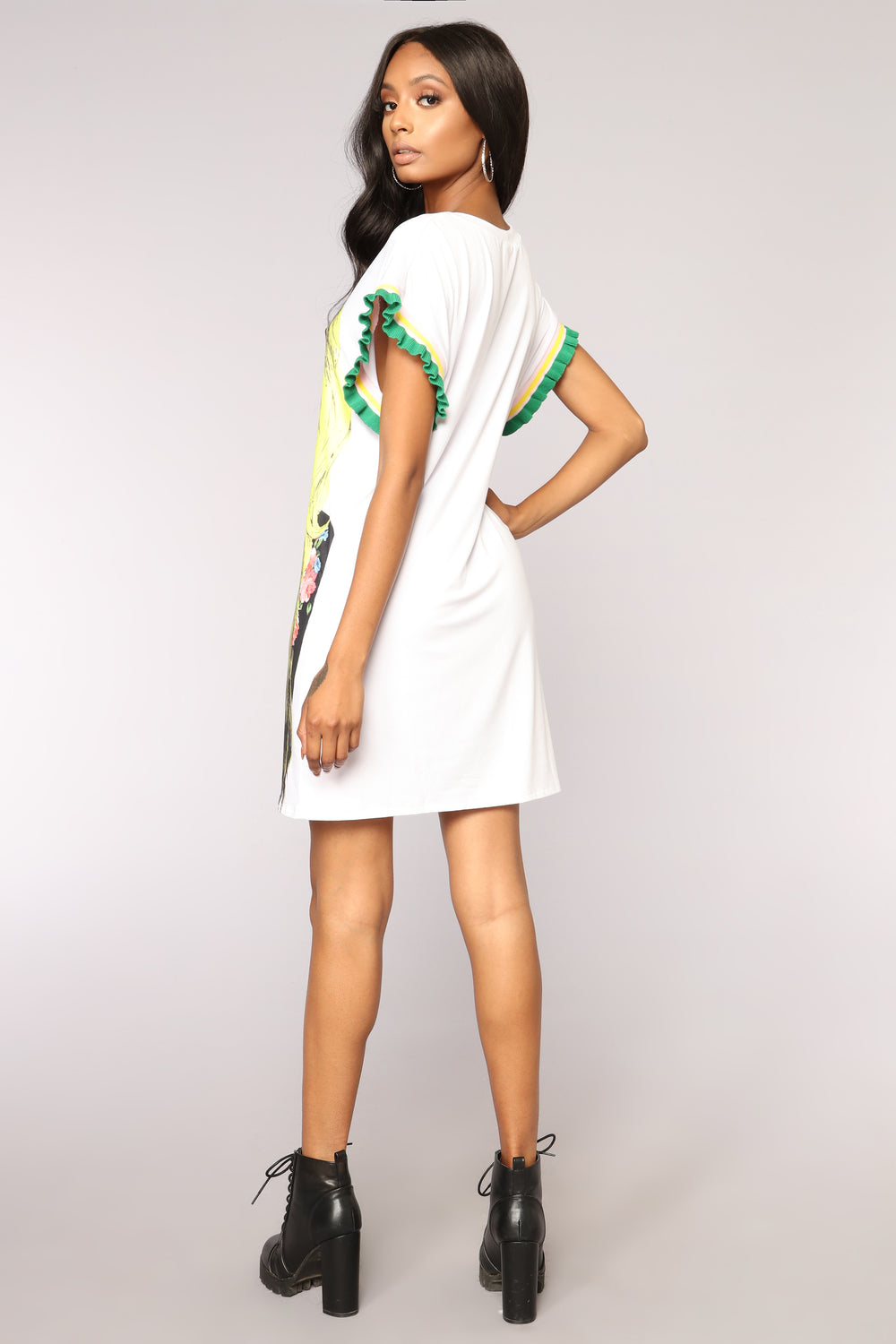 Lost In The City Tunic - White