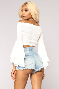 La Bella Vita Top - Off White