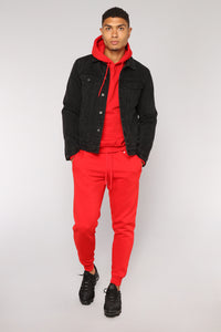 Tyson Jogger - Red