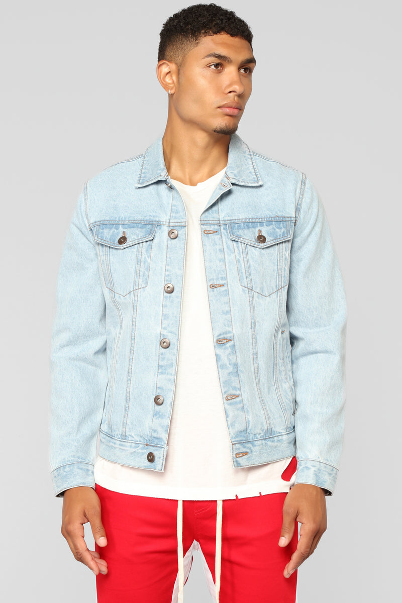 Cobain Denim Jacket - Light Blue Wash