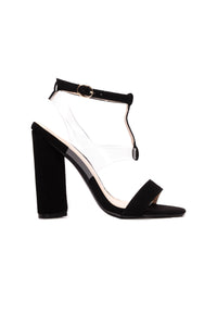 Hear You Clearly Heels - Black