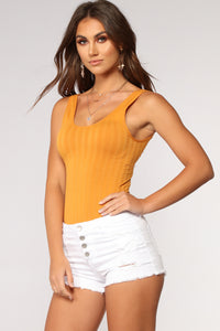 Every Lil Thing Bodysuit - Mustard