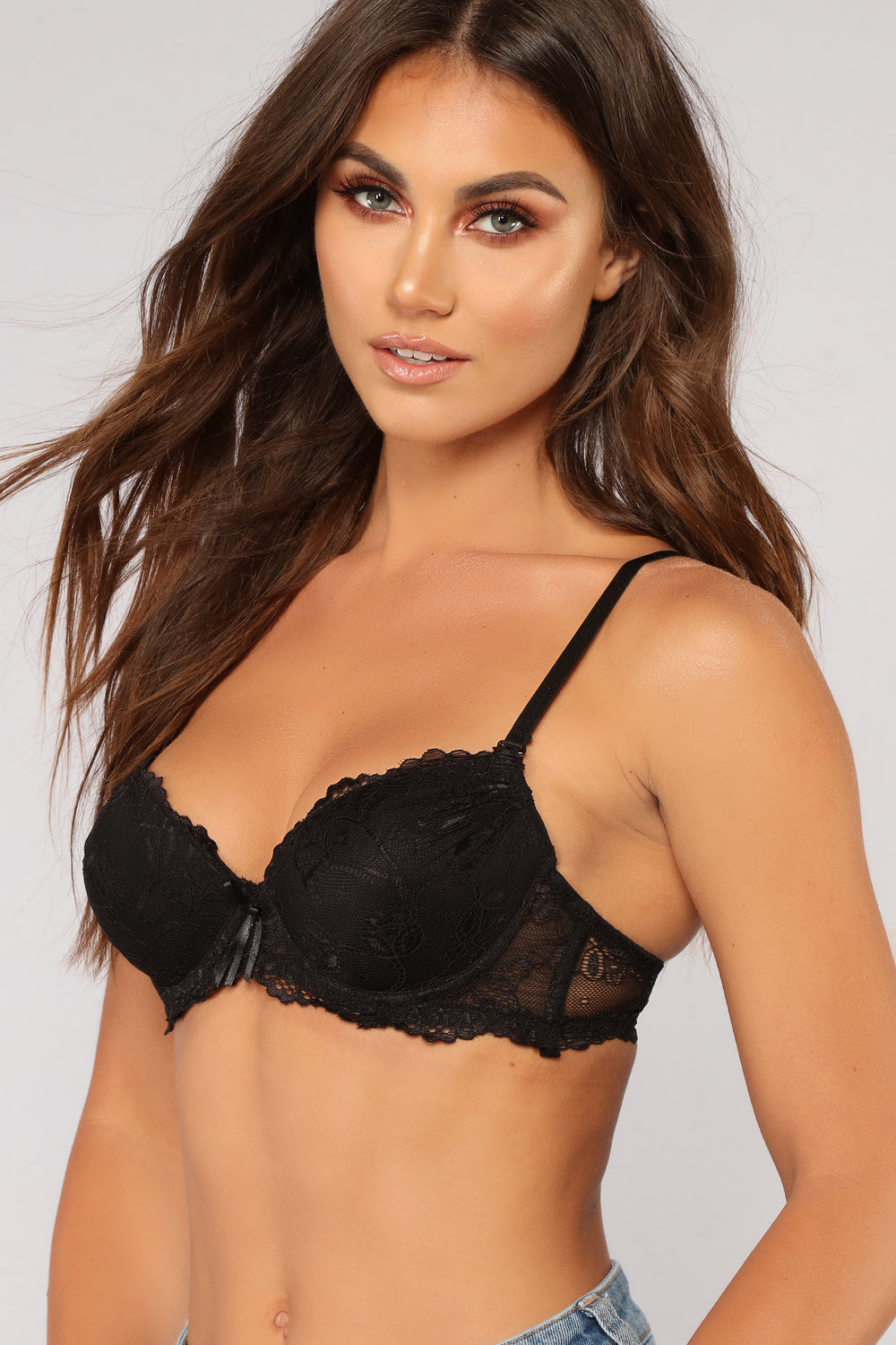 So Into It Extreme Push Up Bra - Black