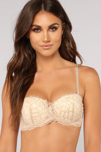 Remember Us Extreme Push Up Bra - Beige