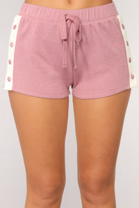 One More Rep Snap Shorts - Lavender