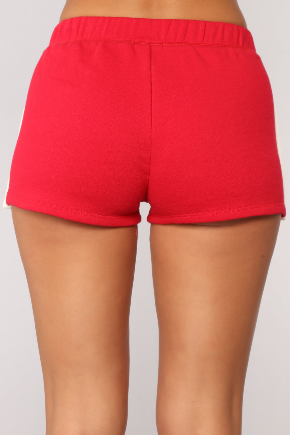 One More Rep Snap Shorts - Red