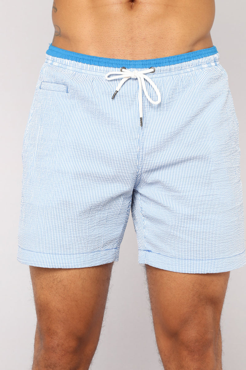 Martin Board Shorts - Blue Stripe
