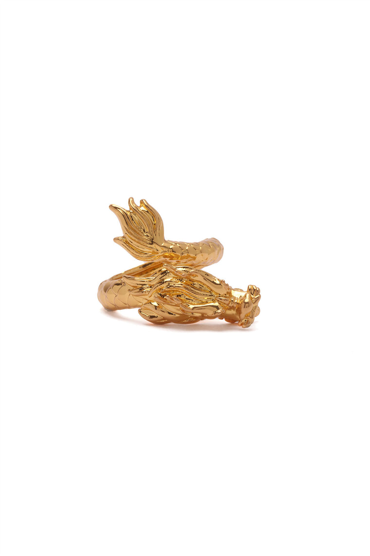 The Dragon Statement Ring - Gold