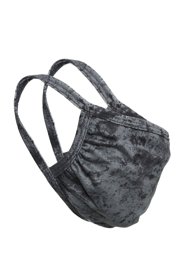 Mineral Wash Face Mask - Grey/Black