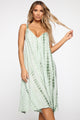 Flow With It Tie Dye Jumpsuit - Sage