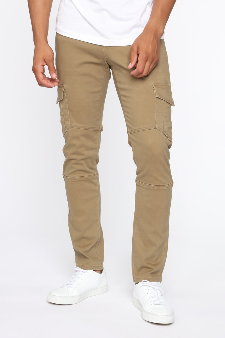 Caesar Cargo Pant   Camel by Fashion Nova