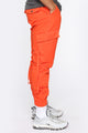 Jump On It Cargo Pants - Orange