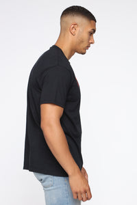 Verified Short Sleeve Tee - Black/combo Angle 3