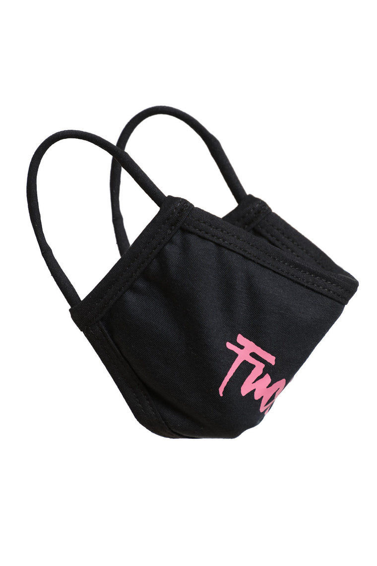 Please F Off Face Mask - Black/Pink