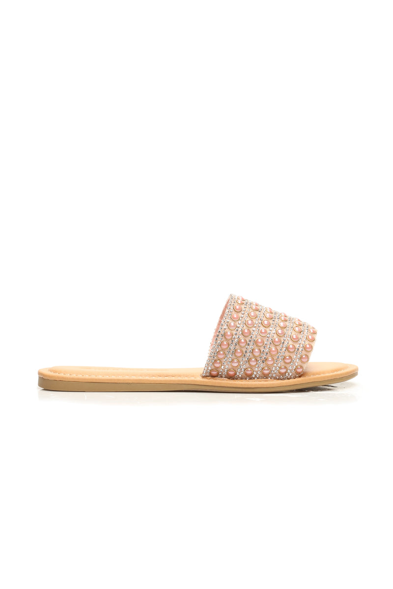 Shine Time Slides - Peach