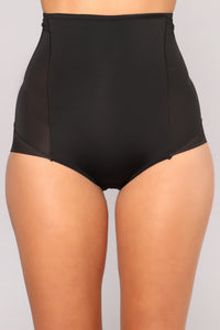 Shape Your Dreams Shapewear Panty - Black