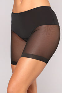 Shape Your Fantasy Shapewear Short - Black