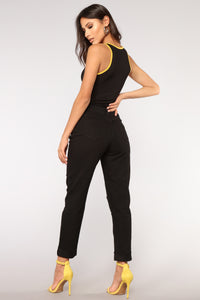 Hustle Bodysuit - Black