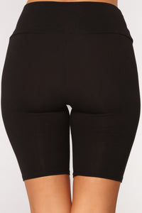 Brooke Biker Shorts - Black