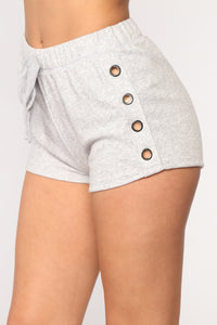 Play The Field Shorts - Grey