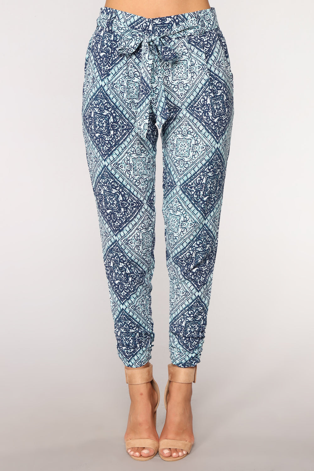 Follow The Moon Pants - Peru Blue