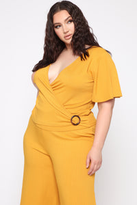 Change Your Opinion On Me Top - Mustard