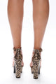 Private Party Heeled Sandal - Leopard