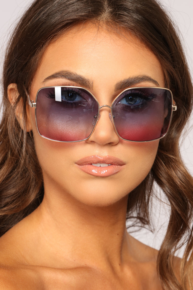 All Shade All Day Sunglasses - Gold/Multi