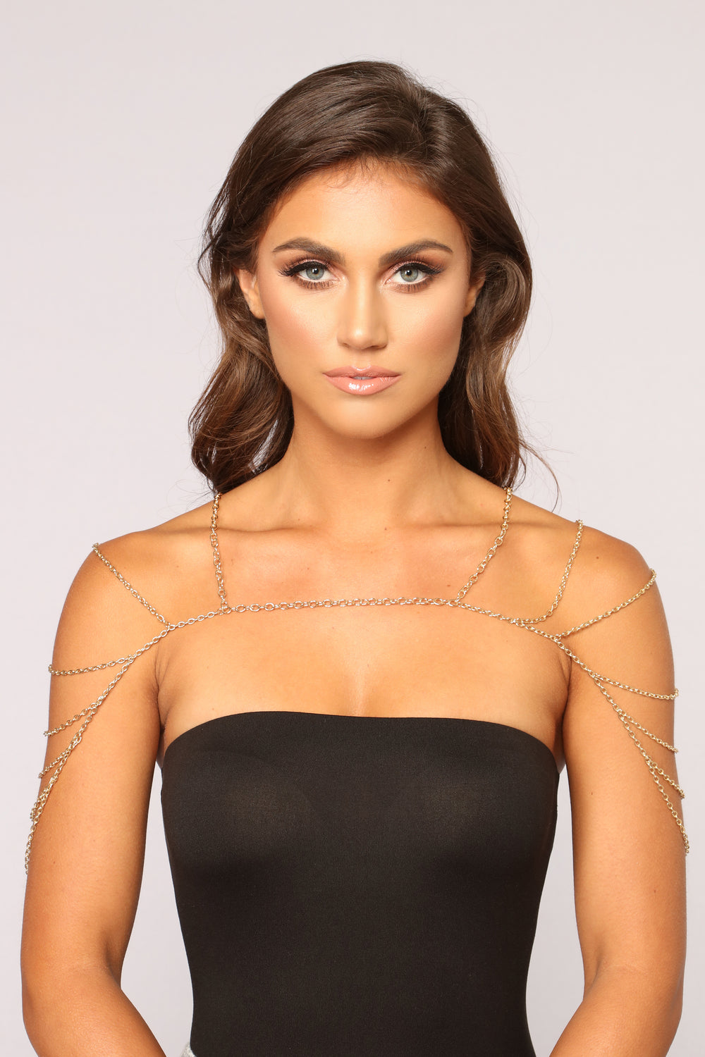 Come To My Layer Body Chain - Gold