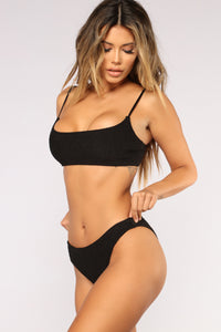 Smock It To You Bikini - Black