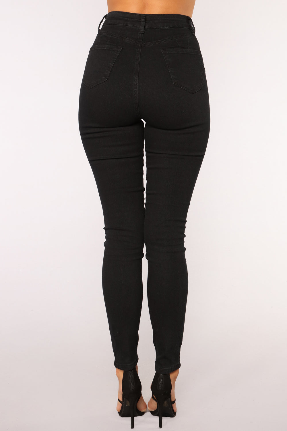 Times Running Out Skinny Jeans - Black