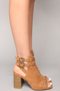 Last Call Bootie - Chestnut
