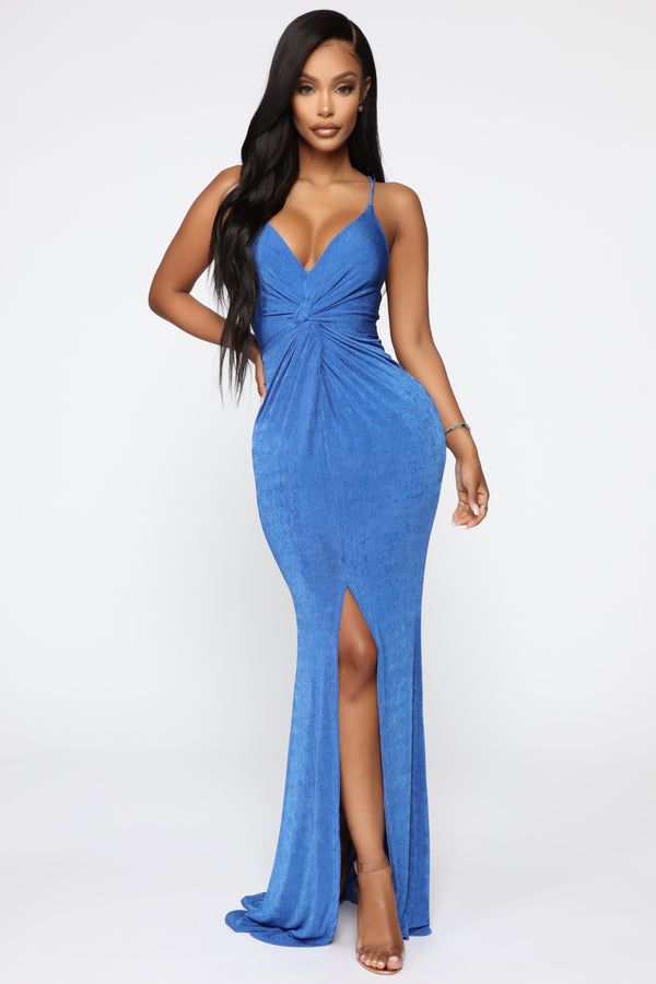 1f45d116f Coming For More Maxi Dress - Royal