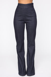 Almost Famous Flare Jeans - Dark Denim