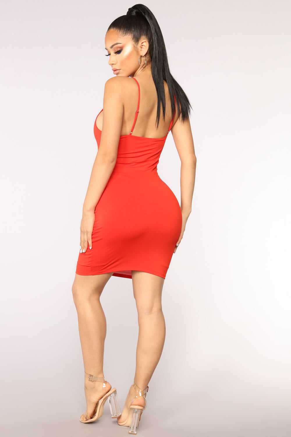 Vegas Go To Dress - Red